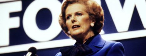 Thatcher, sinonimo di leadership