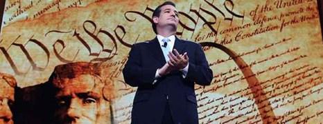 La lunga notte di Ted Cruz