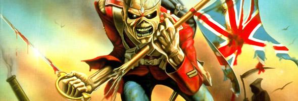 Gli Iron Maiden suonano l'ultima carica in Crimea