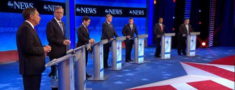 GOP 2016. Le pagelle dell'ottavo dibattito (NH)